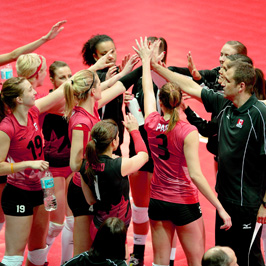 On the Departure of the Canadian Women's National Volleyball Team