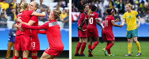 Desiree Scott & Sophie Schmidt